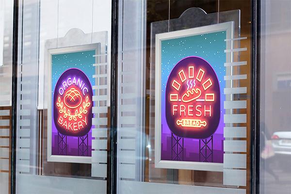 biển hộp đèn trung tâm thương mại