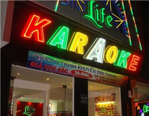 bien led mica hat sang chan cho quan karaoke